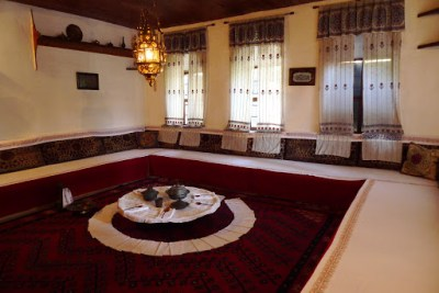 Traditional Bosnian home, in Turkish Ottoman style