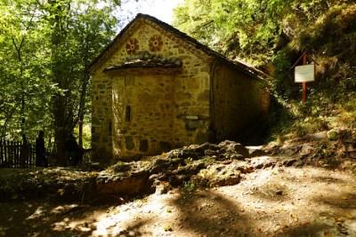 Small temple! Right near a mini cave too