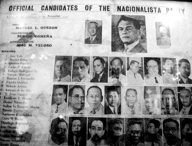 The old school partido nacionalista