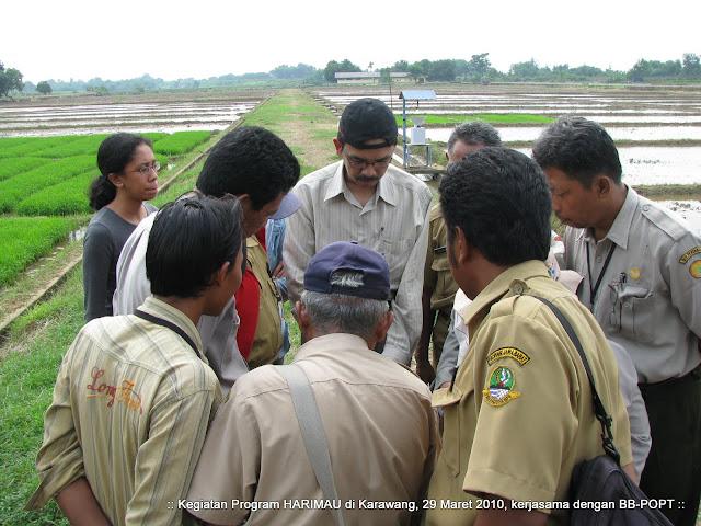 Pelatihan penggunaan GPS