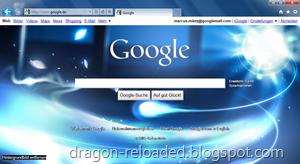 IE9 Google Background