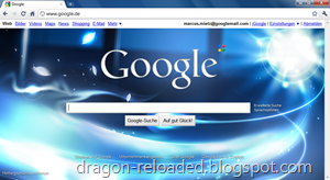 Chrome Google Background