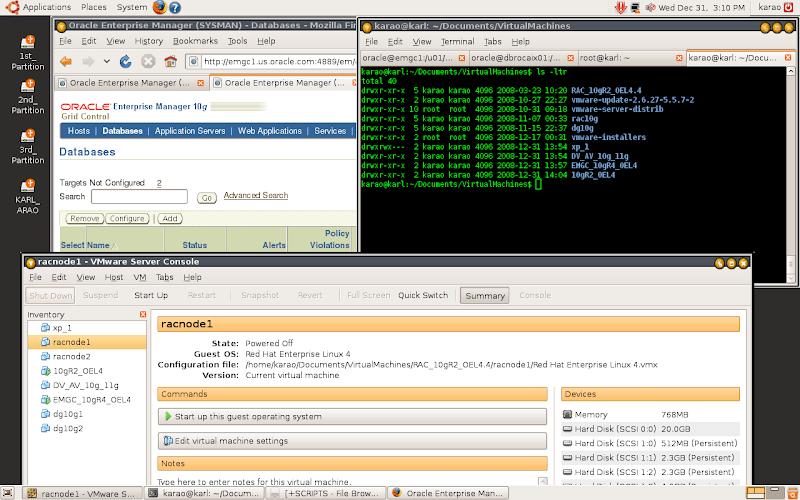 Screenshot Ubuntu Desktop Environment