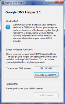 Google-DNS-Helper