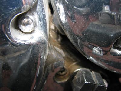 Stator Groment Leak