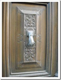 Door knocker in Agde