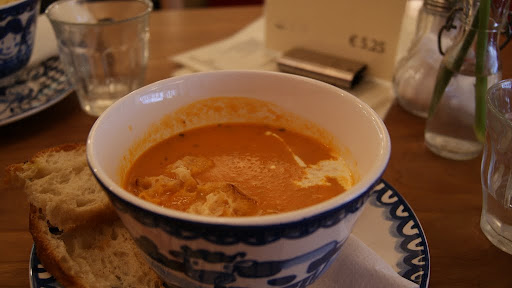 Tomatensoep... sopa de tomate