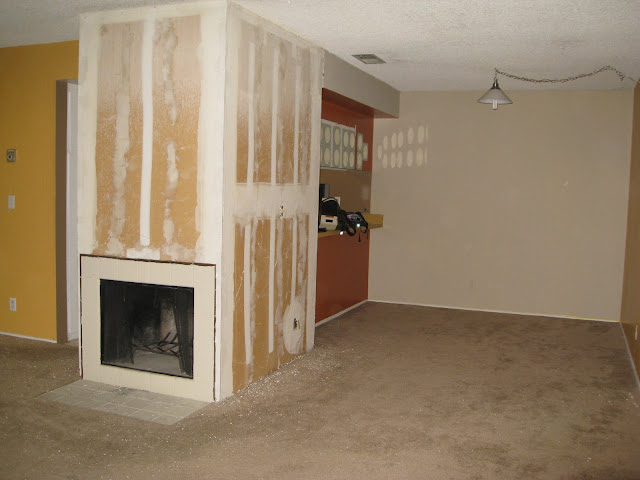 Heres the dining room when we first moved.