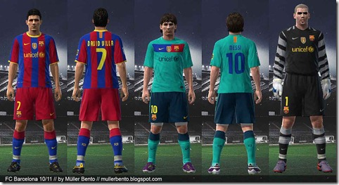 FC Barcelona 10-11 Preview By Muller Bento
