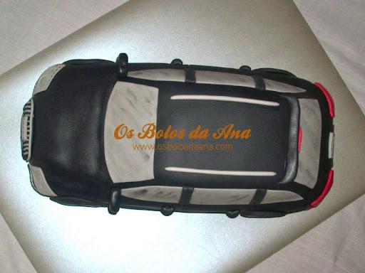 Bolo temático Audi Q7 Bolo 3D Audi 3D Cake Sculpted Cake