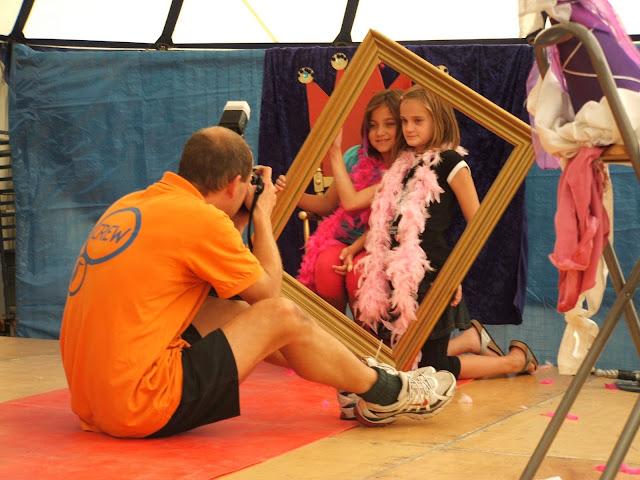 Kinderen in the picture tijdens Prinsjesdag Biddinghuizen