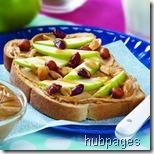 peanut butter apples
