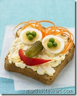 egg salad face