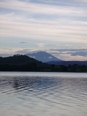 Monte Hanang dal lago Babati