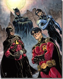 Batman e Robins, por Brad Green