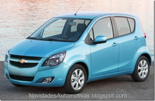 Chevrolet Onix - 2012