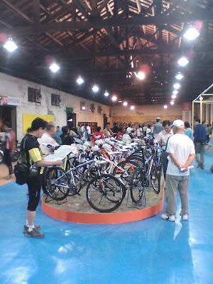 單車配件展示區