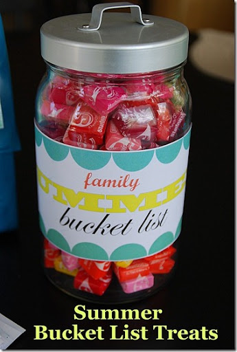 summer bucket list treats
