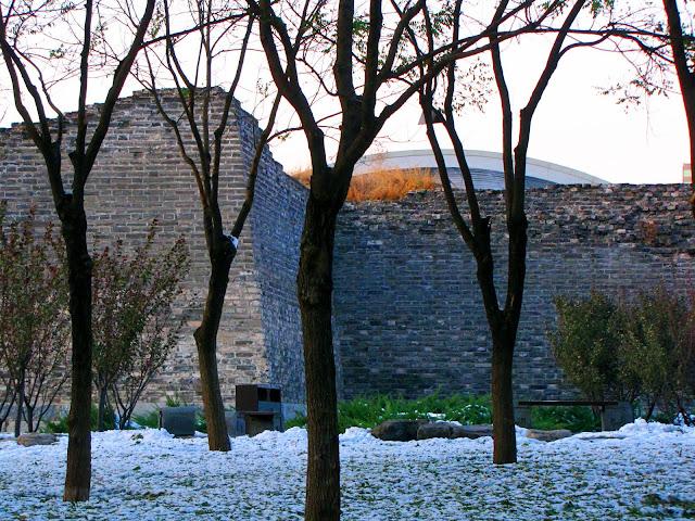 皇城下的雪