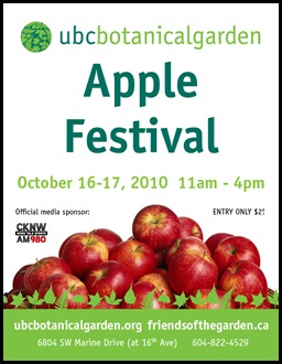 Apple Festival Posted - note colour of greens and red