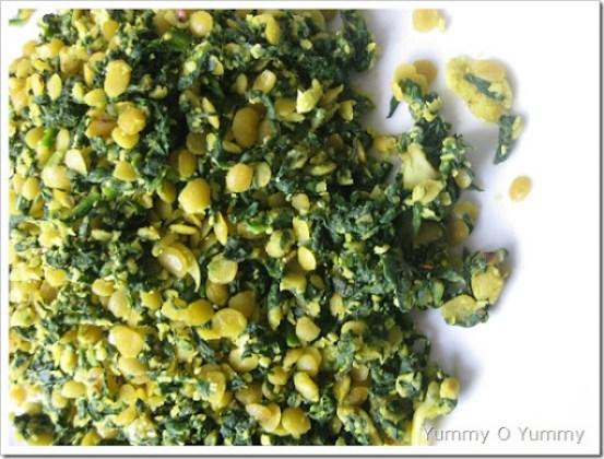 Spinach Dal Thoran