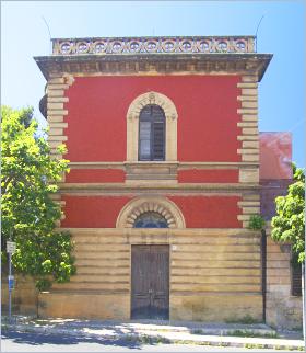 Sizilien - Santa Flavia - Das Villino Basile ist eine der frühen Arbeiten des berühmten sizilianischen Architekten Ernesto Basile