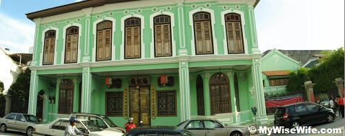 The legacy mansion of Baba Nyonya