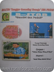 """Launching Buletin Sanggar Konseling Remaja"""" SMAN Pintar Kuansing"""