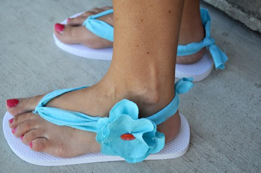 Adorable Sandals Tutorial
