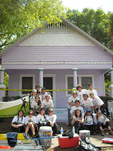 Completed Rebuilding Together house in Tampa