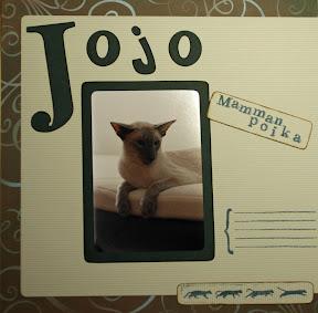 Jojo -kissan skräppisivu
