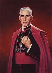 Archbishop Fulton J. Sheen by Greg Hildebrandt