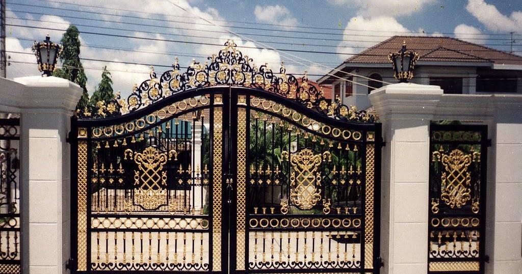 Iron gates design gallery - 10 Images - Kerala home design ... on Iron Get Design  id=61039