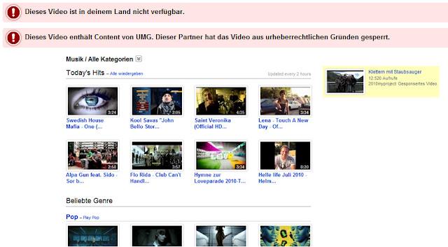 YouTube Music: Zwischen GEMA und Verträgen