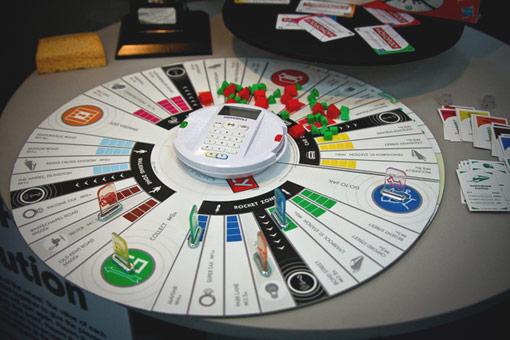 Circular Monopoly Board