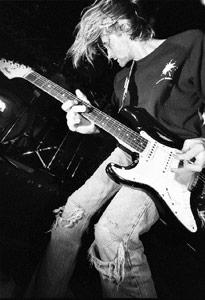 Kurt Cobain grunge music