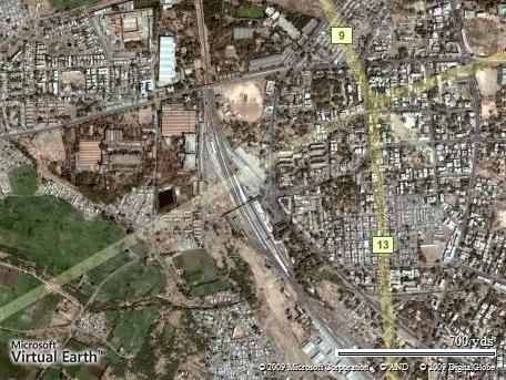 Solapur City Air View