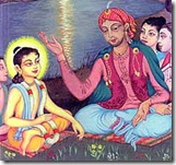 young Lord Chaitanya