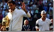 Federer wins 2009 Wimbledon