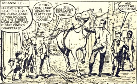 A panel of PC 49 by John Worsley from a later issue of Eagle