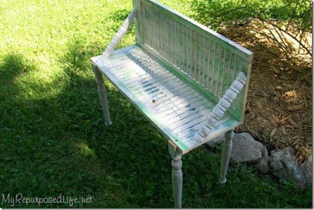 garden bench for plants