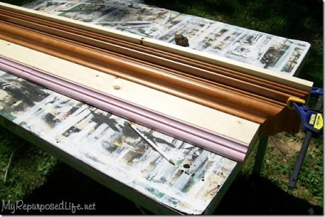 assemble coat rack wall shelf