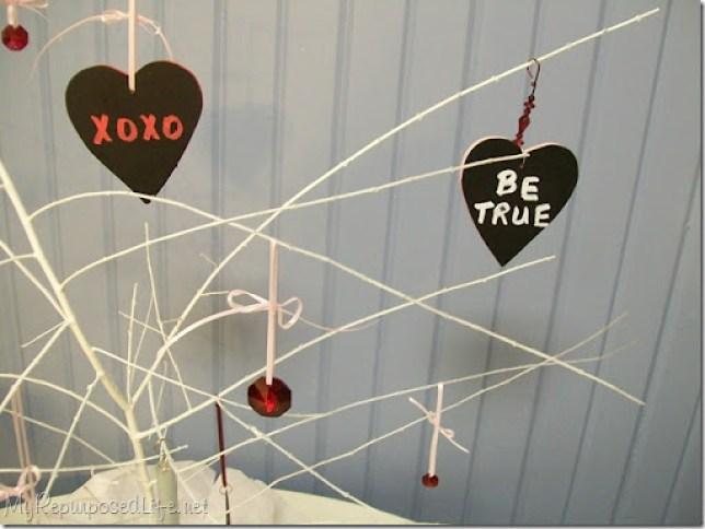 chalkboard hearts tags