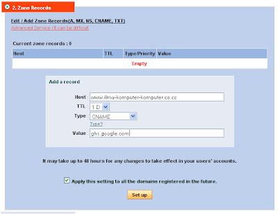<i>domain</i> gratis .co.cc