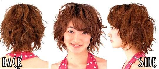 Trendy Short Japanese Hairstyles picture