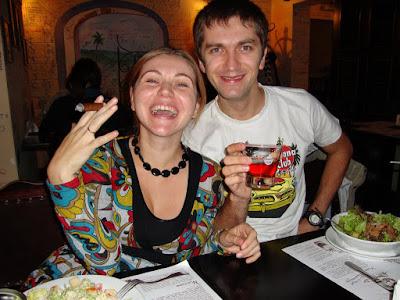 Настоящие кубинцы в киевской Бодегите