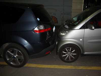 Вот так часто паркуются :)