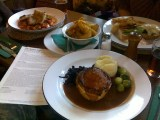 Lunch at the Dysart Arms