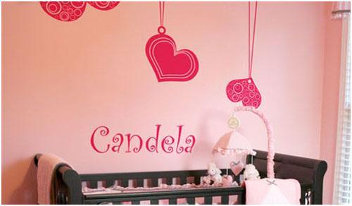 decorar una pared con vinilos adhesivos