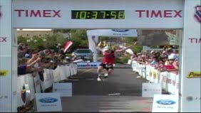 Bart Finish @ IronMan St George